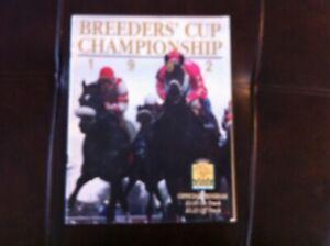 1992  Breeders Cup Program, Signed 4 Legendary Hall of Fame Jockeys