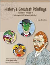 History's Greatest Paintings Pattern Book - Stained Glass