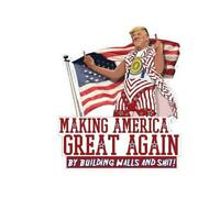 Make America Great Again Wall Vinyl Decal Sticker Car Truck Donald Trump