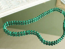 """3 Strands 18-20/"""" 14MM Green Malachite /&Baroque Freshwater Pearl Necklace Earring"""