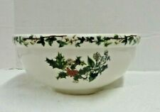 Portmeirion THE HOLLY & THE IVY Pasta SERVING Bowl 9 1/2'' NEW