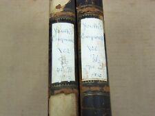 1912 YOUTH'S COMPANION BOUND MAGAZINE VOLUME NO. 86 WHOLE YEAR LOT OF 2- KD 3369