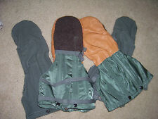 MILITARY  ARTIC EXTREME COLD WEATHER MITTENS & LINER SET
