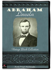 ABRAHAM LINCOLN  44 Vtg Book Collection on CD  Life of Lincoln Slavery Civil War