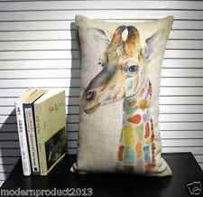 Free shipping New 100% linen Cushion 30cm*50cm  without inserts included