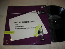 "10"" JAZZ OF MODERN TIMES Jimmy Giuffre / J.J.Johnson-Quintett 1962"