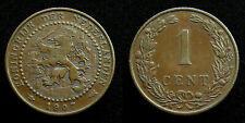 Netherlands - 1 Cent 1907