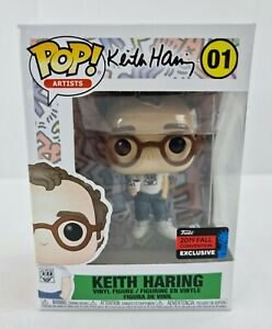 Funko Pop Keith Haring 01 Artists Icons 2019 Fall Convention Exclusive Vinyl