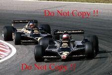 Mario Andretti & Ronnie Peterson JPS Lotus 79 Dutch Grand Prix 1978 Photograph 4