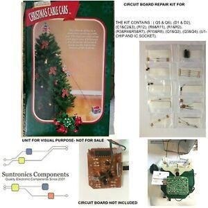 MR. CHRISTMAS CABLE CARS (APROX DATE CODE 2000 RANGE) -Circuit Board repair kit