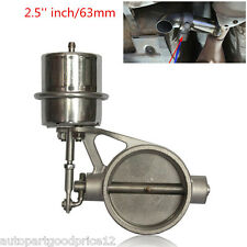 Stainless Steel 2.5''/63mm Exhaust Control Valve Set  Vacuum Actuator Open Style