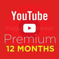 YouTube Premium W/ FREE YouTube Music (12 MONTHS) | WORLDWIDE | INSTANT DELIVERY