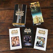 Rare: STAR WARS coffret VHS La Trilogie,  MASTER THX DIGITAL, 2000, VOST, TOP!!!
