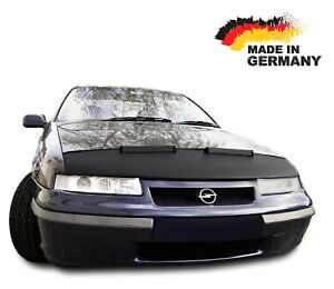Black Bull Hood Bra for Opel Calibra Mask Cover Nose Bonnet Protection NEW