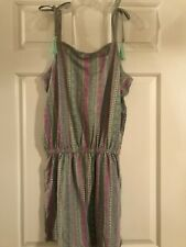 NWT Girls Justice Size 20 Gray Romper