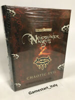 NEVERWINTER NIGHTS 2 CHAOTIC EVIL COLLECTOR'S EDITION - PC GAME - NUOVO NEW ITA
