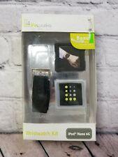LifeWorks Ipod Nano 6G  Wristwatch Kit ~Black & White, Model# LW-6N303