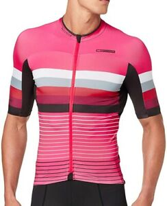 Madison Road Race Premio Short Sleeve Mens Cycling Jersey - Pink