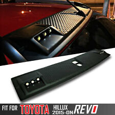 Light Leds Cap Front Roof Spoiler DRL For Toyota Hilux Revo M70 M80 SR 2015-2017