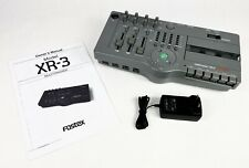 Fostex XR-3 Multitracker 4-Track Variable Speed Cassette Recorder With Manual
