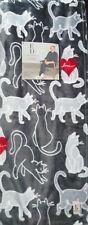 "🐈 ED Ellen Degeneres Kitty Cats Oversized Throw blanket 50""x70"