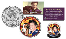 Elvis Presley * Hound Dog * Officially Licensed JFK Kennedy Half Dollar US Coin
