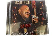 En Vivo! by Oscar D'Le¢n (CD, Sep-2000, 2 Discs, RMM)