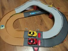 Fisher Price Shake N Go Raceway Speedway Race Track 2 Shake N Go Cars Complete