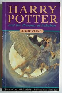 HARRY POTTER AND THE PRISONER OF AZKABAN / 1st UK PAPERBACK EDITION WITH ERRORS