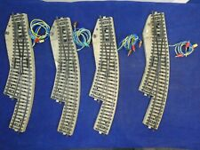 Marklin 5142 H0 - 4 x M-Rails Elektrische Bochtwissel Rechts