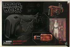 Star Wars Black Series REY'S SPEEDER (JAKKU) 03 Brand New