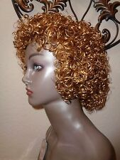 Magic Touch Copper Brown Curly Wig 100% Kanekalon fiber. MT- 902 #27.