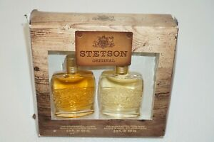 Stetson Cologne 2 oz & Aftershave 2 oz Collector's Edition