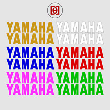 YZF R1/R6 Yamaha Sticker Decals x 2 - Available In Over 50+ Colours
