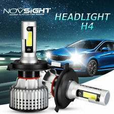 NOVSIGHT H4 9003 HB2 10000LM Car LED Headlight Kit Bulb Lamp 6500K White Beam UK