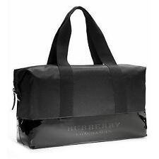 NWT Burberry Fragrances Men Duffle Weekender Bag Gym Overnight Travel Handbag !