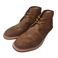 Nautica Mens Chukka Boots Linkside Brown Suede Lace Up Casual 8 M New