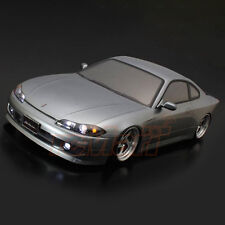 ABC Hobby Nissan S15 Silvia 196mm Clear Body 1:10 RC Cars Drift Touring #66158