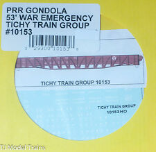Tichy Train Group #10153 Decal for: Pennsylvania Railroad 53' War Emergency Gond