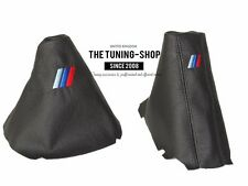 For Bmw 5 E60 E61 2003-06 Gear & Handbrake Gaiter Leather M3 /// Embroidery