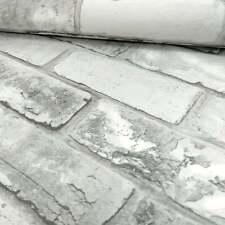 Debona Brick White Wallpaper 6751 Carta da parati