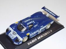 "1/43 Minichamps Mercedes Benz Sauber C9 ""AEG"" Car #61 from 1988 24 H of LeMans"