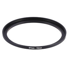 New 67mm-72mm 67mm To 72mm Step Up Rings Metal Lens Filter Ring Adapter 67-72
