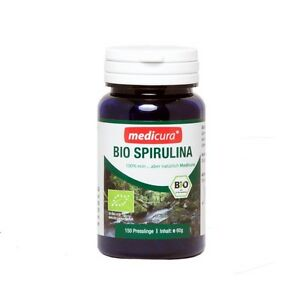 Bio Spirulina 100 % rein -  a.150 Presslinge pro Dose (18,25€/100g)