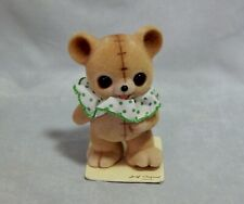 Josef Originals Flocked Teddy Bear Figurine