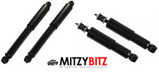FRONT & REAR GAS SHOCK ABSORBERS for MITSUBISHI L200 K74 2.5TD 1996-2006