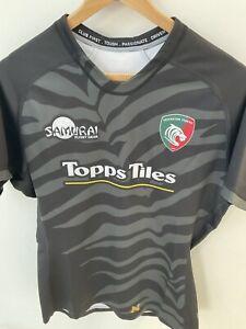 Leicester Tigers Samurai 2XL Match Day Warm Up Shirt Letter N