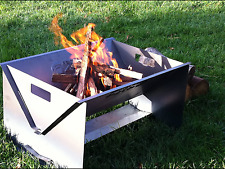 Fire Pit, Firepit, Campfire, Portable, Flat Pack, Heavy Duty