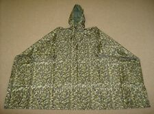 CADPAT digital camouflage large size heavy duty hooded rain poncho hooded new