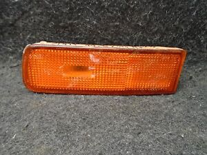 95 96 97 98 99 Nissan Maxima Left Front Bumper Outer Turn Signal Light Lamp OEM